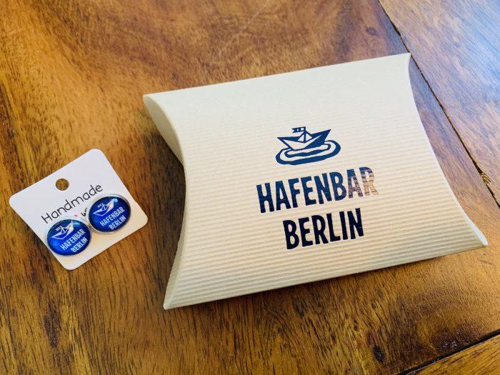 Ohrstecker Hafenbar Verpackung